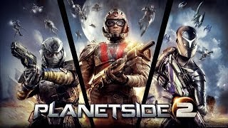Planetside 2 Gameplay - Running on a PS4 - E3 2014