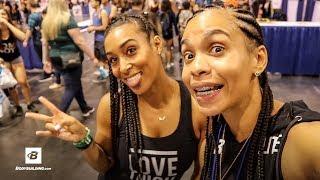 2017 Anaheim Fit Expo | Risen: Vanetza Cine | Ep 7