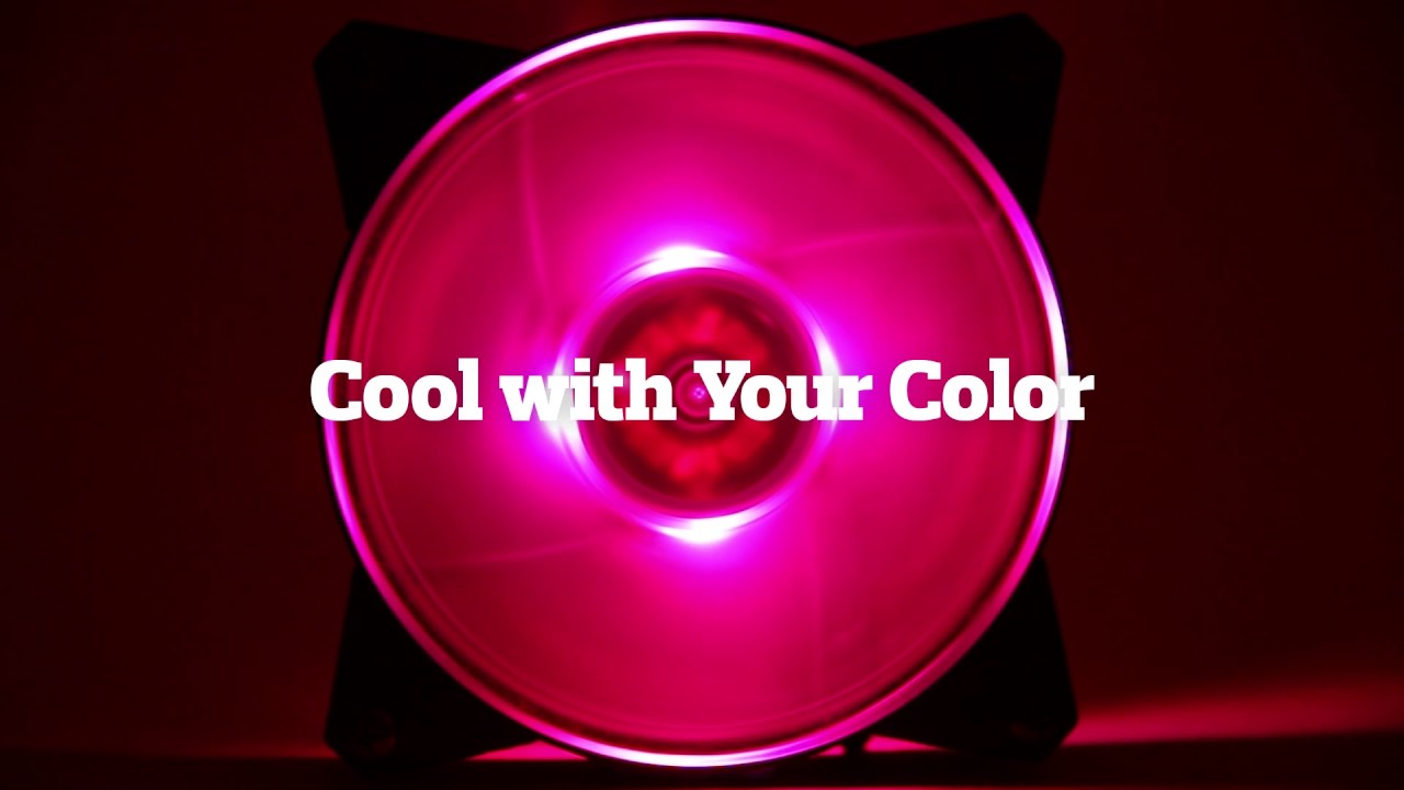 MasterFan Pro 140 Air Pressure RGB 3 in 1 with RGB LED