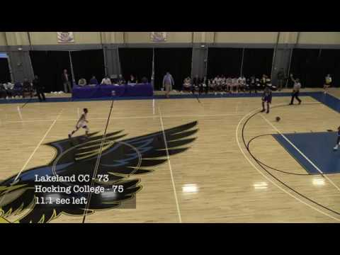 Lakeland CC vs Hocking College 11-18-17 LAST 11 SECONDS!!!