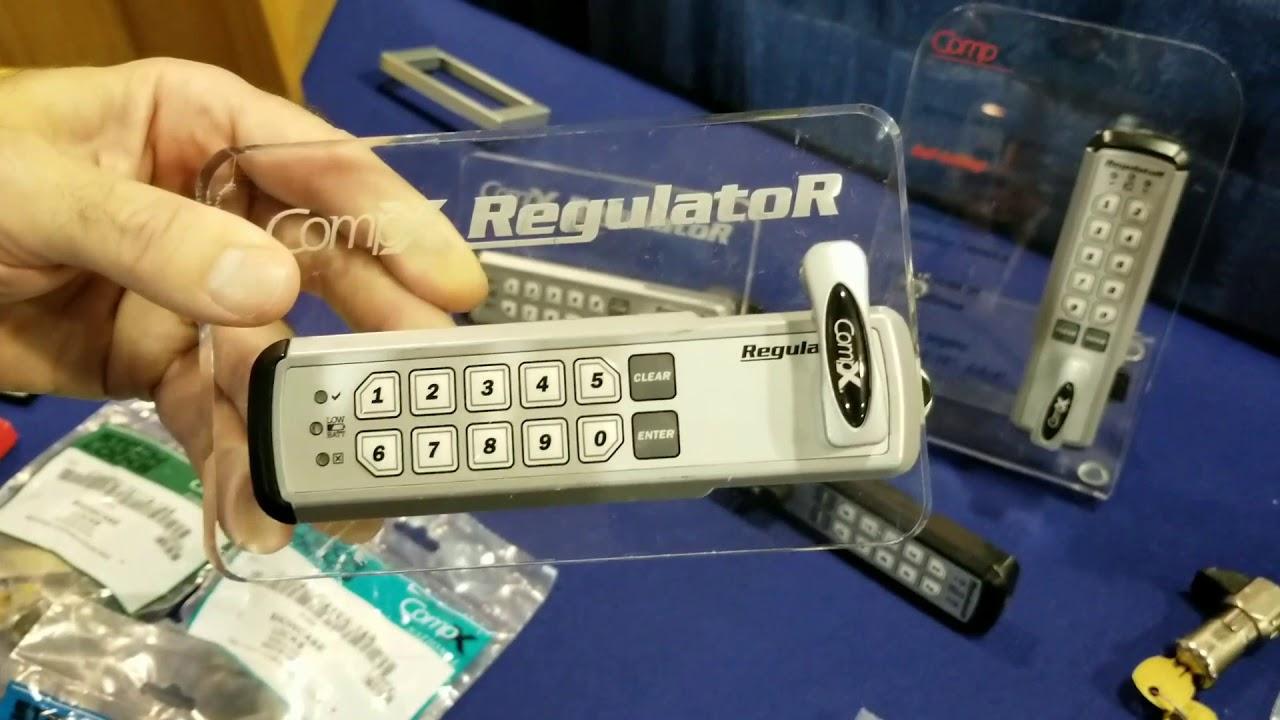Compx Digital Keyless Keypad Push Button Cam Lock For