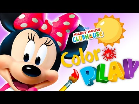 Mickey Mouse Clubhouse - Full Episodes of Color & Play Game feat Minnie's Garden - Walkthrough