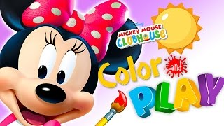 mickey mouse clubhouse full episodes of color play game feat minnie s garden walkthrough