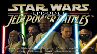 [4] Star Wars Episode 1: Jedi Power Battles Playthrough PS1 (No Commentary)