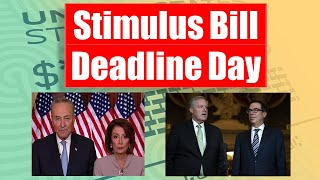 Huge Stimulus Deadline Day!! All The Updates!!