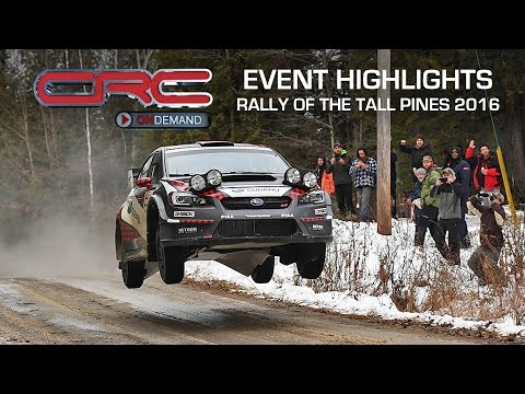 CRC: Rally of the Tall Pines Highlights 2016