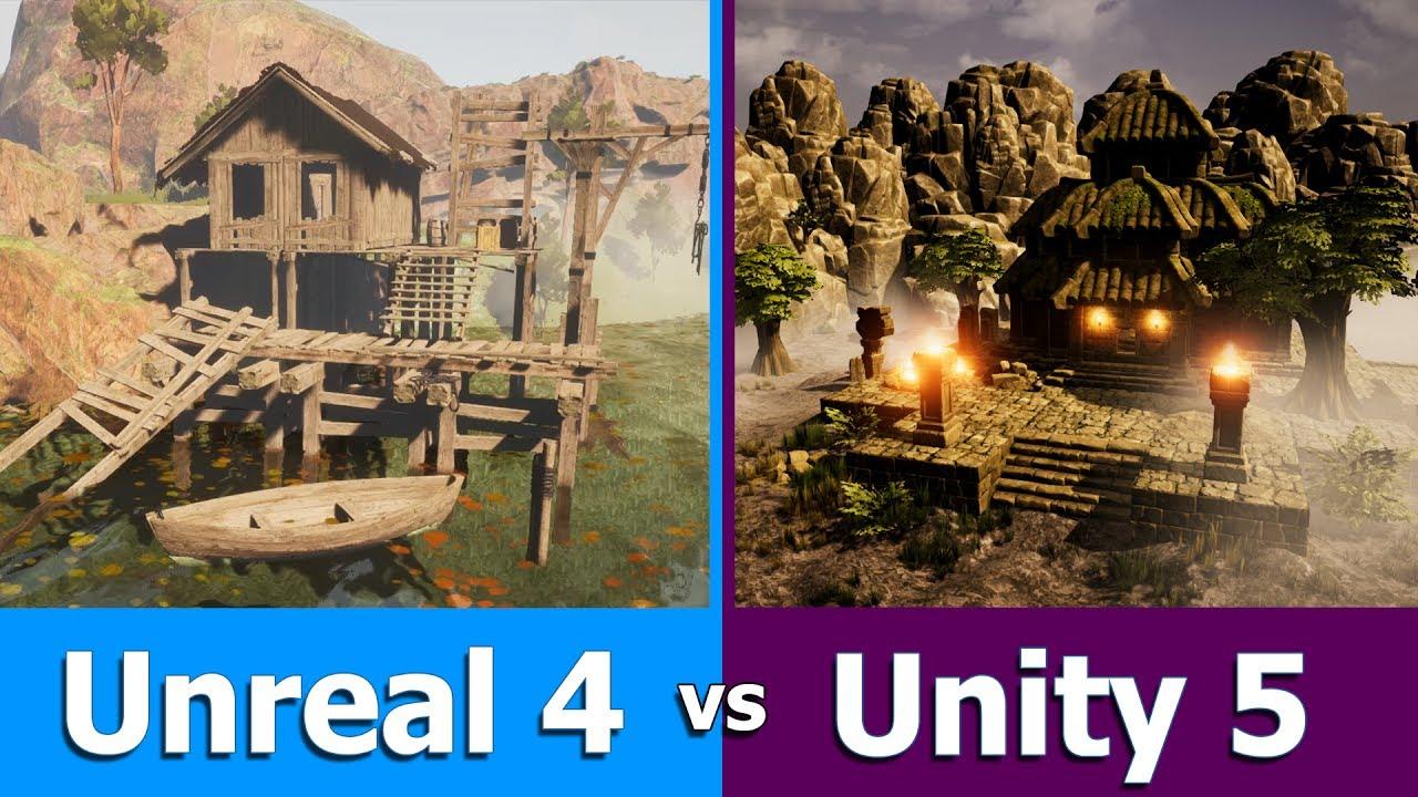 unity vs unreal engine   game engine comparison