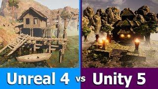 Unity vs Unreal Engine : Game Engine Comparison