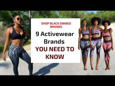 9 MUST HAVE Black Owned Activewear Brands