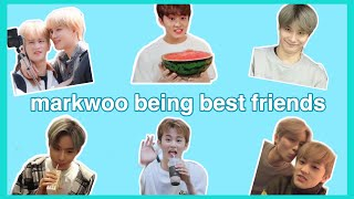 markwoo moments because they're actual best friends
