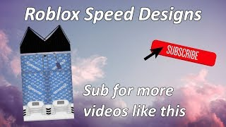 ROBLOX SPEED DESIGN: Jean SLV X Suprême avec Bralette Noire