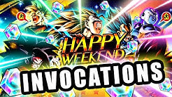 INVOCATIONS DRAGON BALL LEGENDS vs LUDIVINE