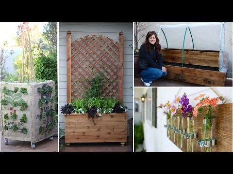 4 Building Project Ideas for Your Garden!