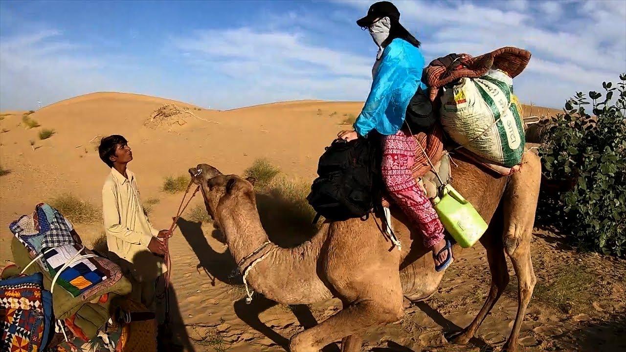 2019印度第17期 | 女骑士骑骆驼去沙漠露营,在印度沙漠露营是一种什么体验? | 女骑士Jane
