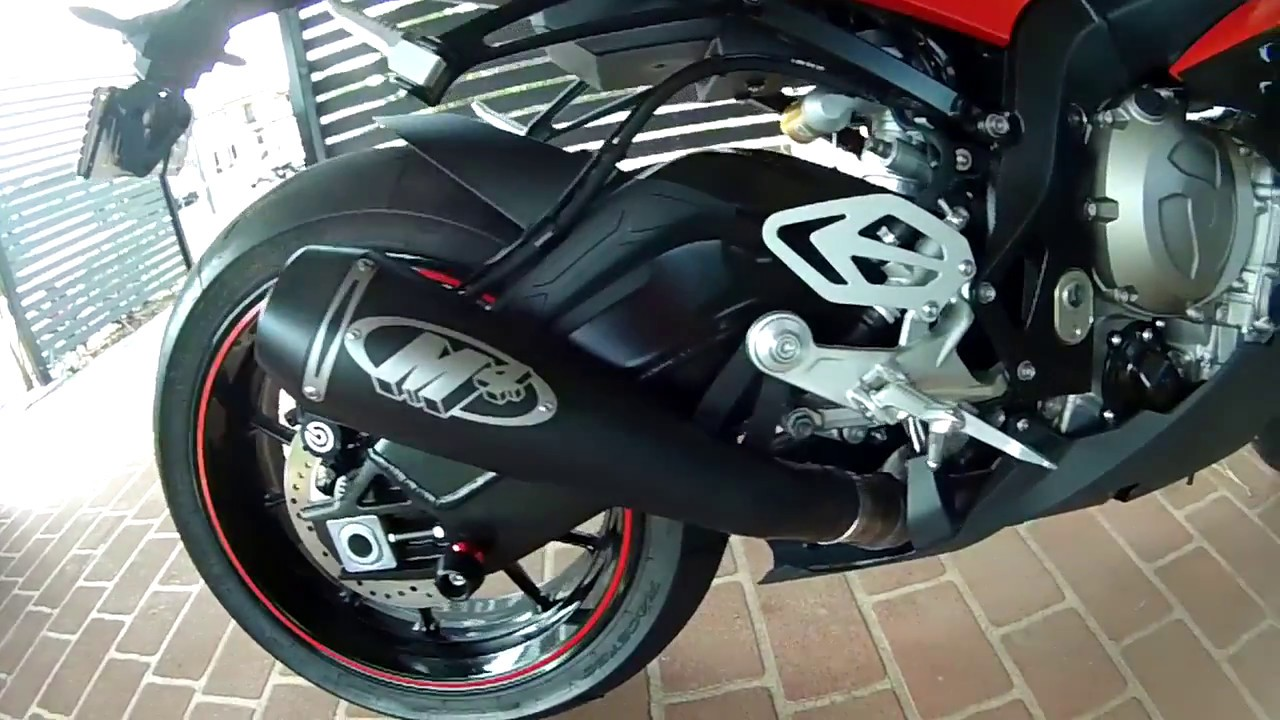 BMW S1000RR With M4 Exhaust
