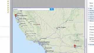 AnyLogic Demo: Linking Maps and Simulation