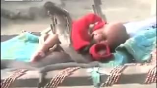 4 COBRAS protect sleeping baby