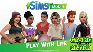 The Sims Mobile Android/Ios Gameplay/Review & Walkthrough[Droid Nation]