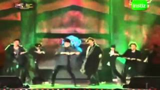 101209SHINee live Performance  Lucifer  @ 25th Golden Disk Award 2010