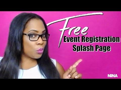 Free Online Event Registration Software    Splash That   Splash Page   Landing Page