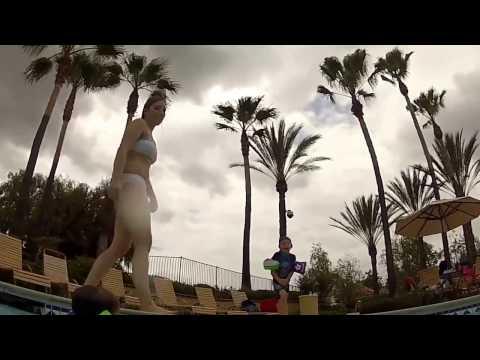 Amazing Hot Girlfriend Underwater Shots at the Swimming Pool 1080p