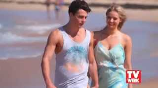 TV WEEK interview - Andrew Morley and Kassandra Clementi