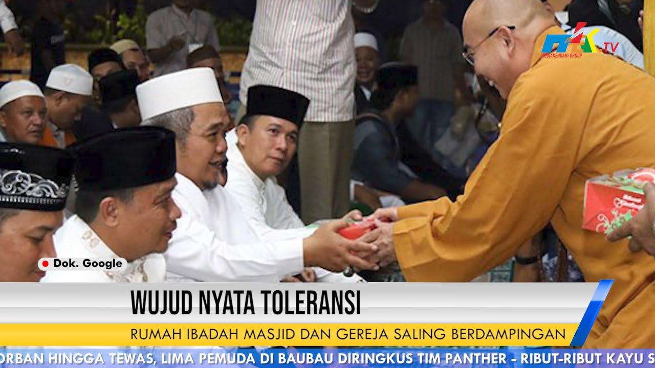 Wujud Nyata Toleransi Rumah Ibadah Masjid dan Gereja