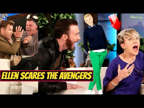 Marvel Cast Being Scared On Ellen Show | Try Not To Laugh 2019 Mp3
