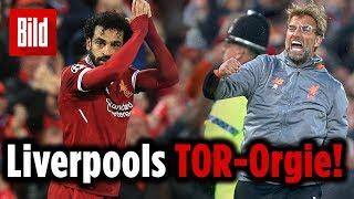 Anfield kocht, Anfield feiert: Liverpool ballert Rom mit 5:2 ausm Stadion