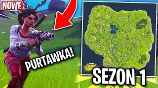 *SEZON 1-wszy*! Z MANOYKIEM I WIDZAMI! | Fortnite - Battle Royale