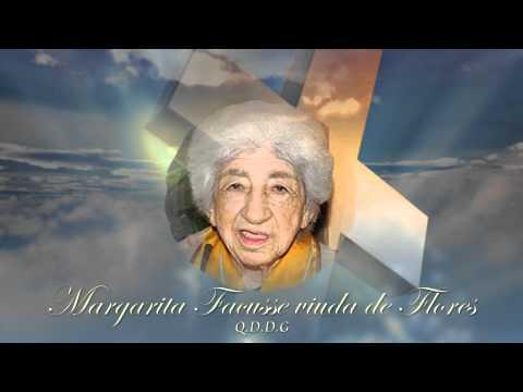Nota de duelo Margarita Facusse (Madre del Ex Presidente de La Republica