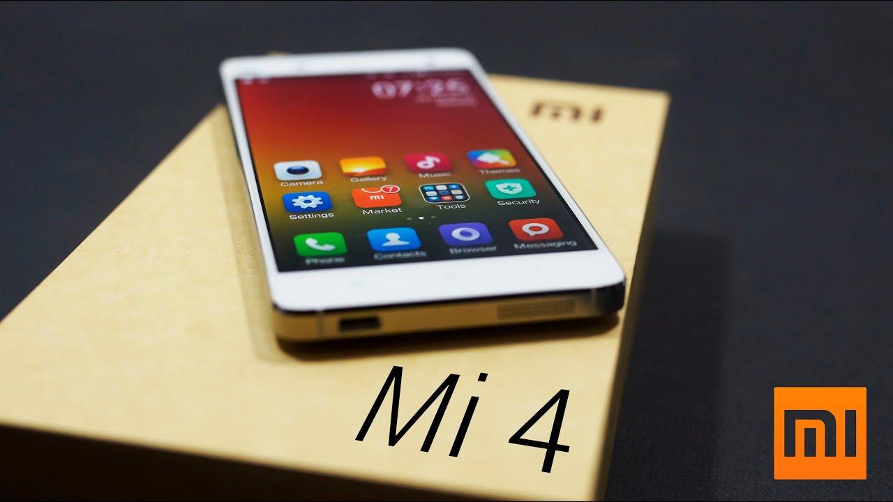 Xiaomi Mi4 - Unboxing & Hands On - YouTube