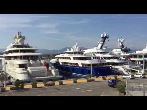 Port Vauban - Marina for yachts and boats in Antibes, France