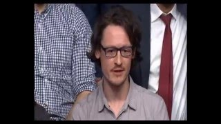 Northern Powerhouse ridiculed by canny Sheffield lad on BBC Question Time Bradford (04Feb15)