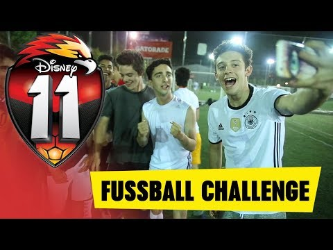 11 - Die Fussball Challenge: 11 vs. SOY LUNA   Disney Channel