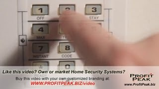 Internet Marketing a Home Security Company Online Commercial Sample for Home Security