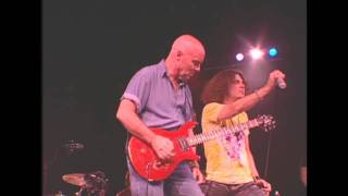 Ronnie Montrose performing Rock The Nation with Jimmy DeGrasso on drums and David Ellefson on bass