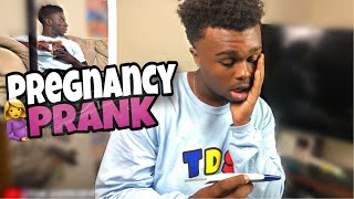 PREGNANCY PRANK 🤰GONE WRONG😱😱 (Nelson passed out)