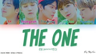 CIX (씨아이엑스) - The One (더 원) (Color Coded Han Rom Eng Lyrics/가사)