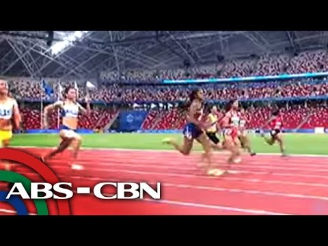 Filipinos are Southeast Asia's fastest man, woman