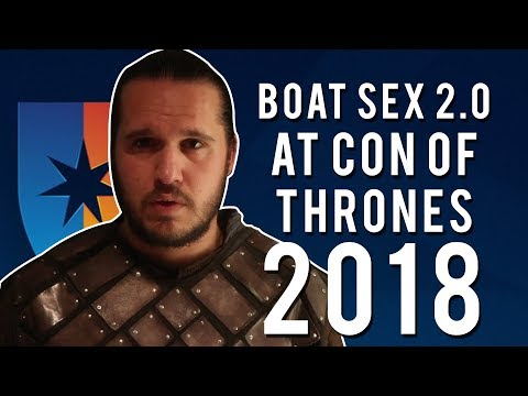 Con of Thrones 2018 : Jon Snow and Daenerys Boat Scene Season 7 Episode 7 PARODY!
