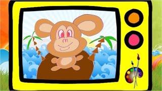 Как нарисовать обезьянку. Оживающие рисунки / How to draw cartoon monkey. Наше всё!(Лена рисует обезьянку, Давайте посмотрим и тоже попробуем нарисовать! А в конце видео обезьянка оживет!..., 2016-04-20T13:00:02.000Z)