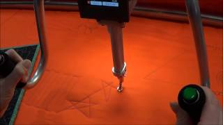 Innova Longarm Quilting Machines are Lighter Demo
