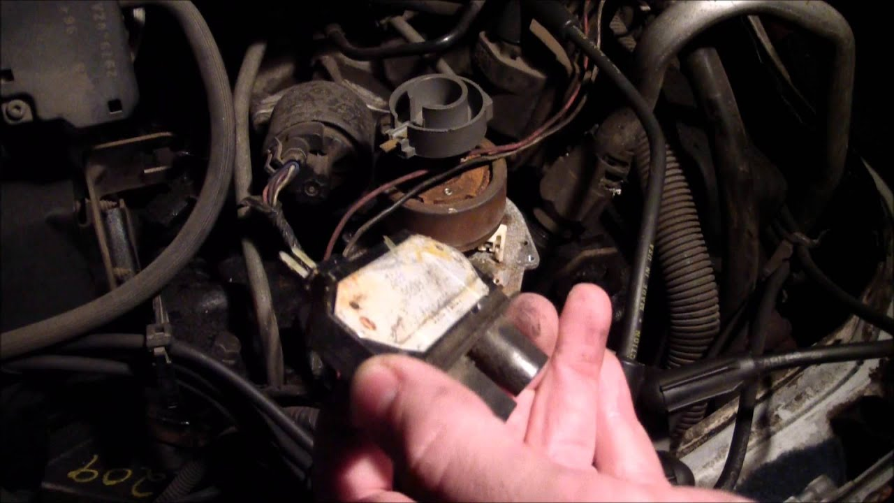 How To Replace Icm Ignition Control Module On Gmc Safari Astro 1997 S10 Fuse Box Van Youtube