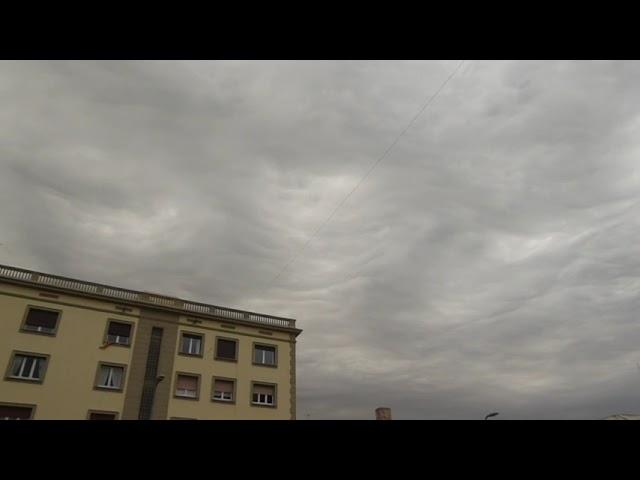 Núvols asperatus, sempre originals - Badalona - Abril 2021