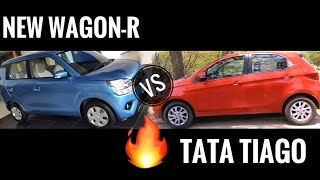 New Wagon-R 2019 vs Tata Tiago