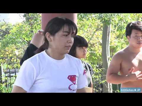 【女子相撲】野崎舞夏星さん試合直前稽古2 Women's Sumo