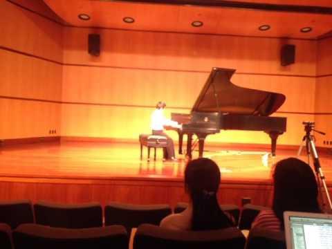 Charles Wang plays Muzio Clementi's Sonatina Op. 36, No. 1, Vivace