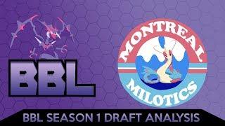DRAFT BLESSED BY GOD!! | BBL Draft Analysis | Pokemon Ultra Sun & Moon WIFI Battle