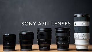 Sony A7III - The Lenses to Buy and why